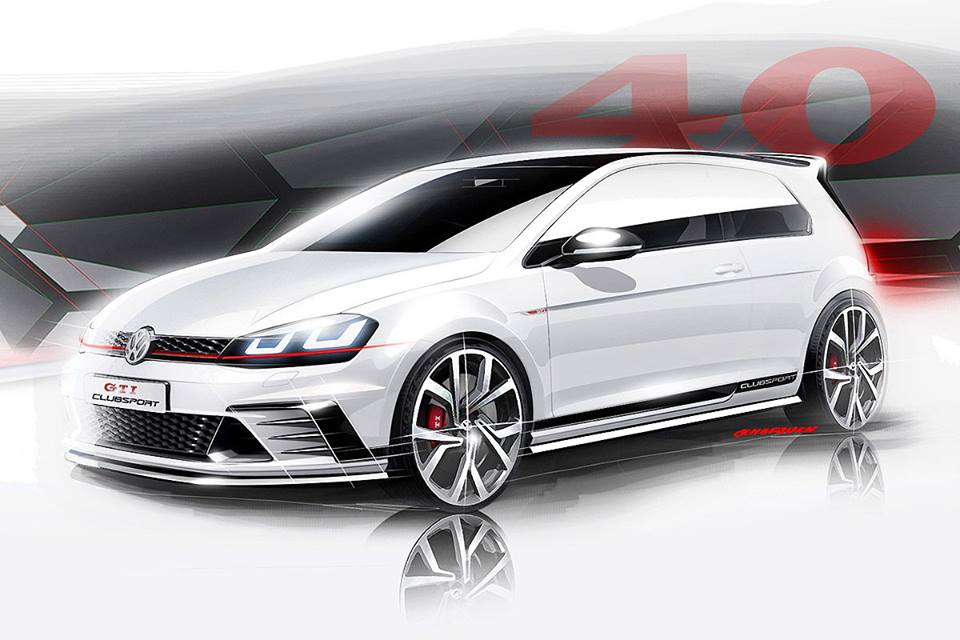 Konceptni Golf GTI Clubsport