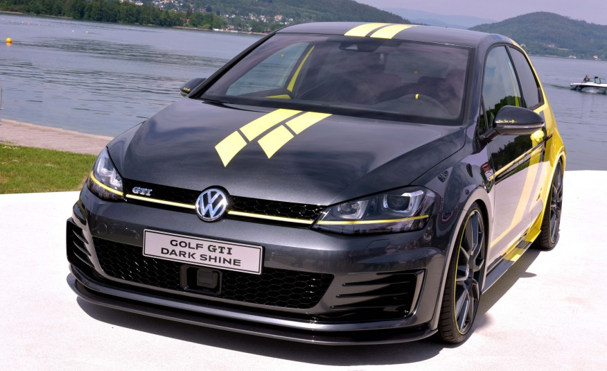 Golf 7 GTI Dark Shine koncept
