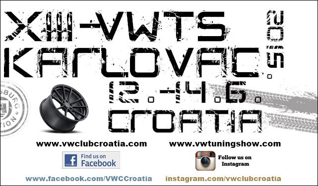 13.VW TUNING SHOW 12.-14.06.2015 KARLOVAC/HR