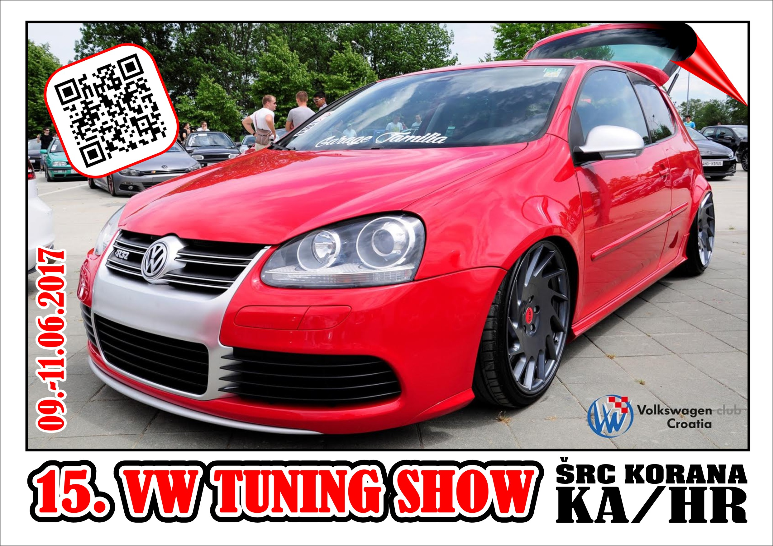15. VW Tuning Show 09.-11.06.2017 KA/HR
