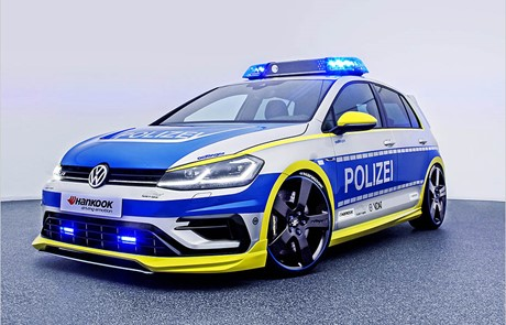 Njemačka policija dobiva tunirani Volkswagen Golf R400, strah i trepet za prekršitelje
